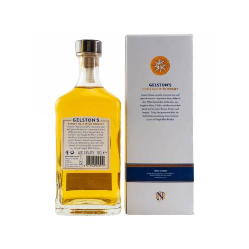 Gelstons 12 Jahre Whiskey Sherry Casks Finish (43% vol. 700ml)