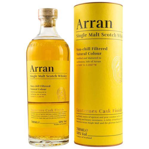 Arran Whisky Sauternes Cask Finish (50% vol. 700ml)