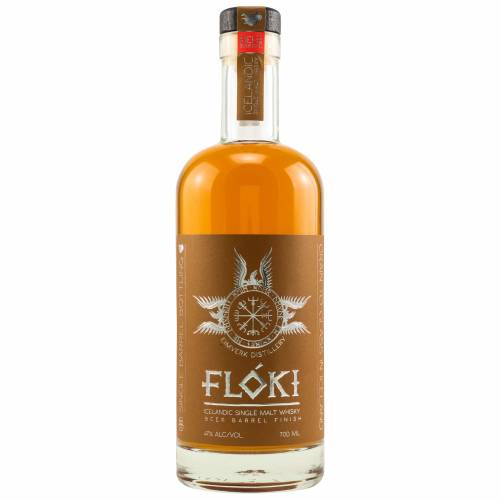Floki Stout Beer Barrel Finish Whisky 47% vol. 0,70l