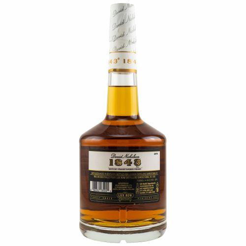 David Nicholson 1843 Bourbon Whiskey 50% vol. 0.70l