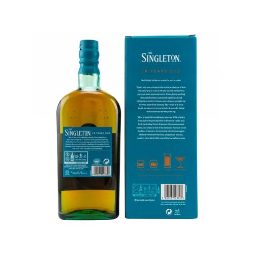 Singleton 18 Jahre Single Malt Whisky 40% vol. 0.70l