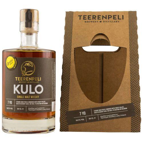 Teerenpeli Kulo Single Malt Whisky Finnland 50,7 vol. 0.50l