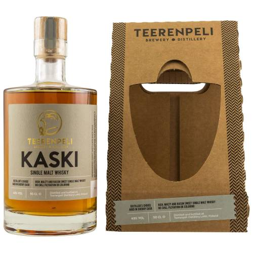 Teerenpeli Kaski 100% Sherry Cask Whisky 43% vol. 0.50l