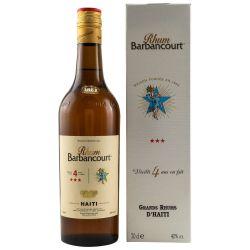 Barbancourt 4 Jahre Haiti Rum 40% vol. 0.70l