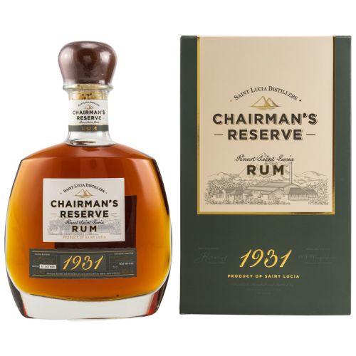Chairmans Reserve Finest Santa Lucia Rum 46% vol. 0.70l