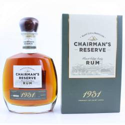 Chairmans Reserve Finest Santa Lucia Rum 46% vol. 0.70l