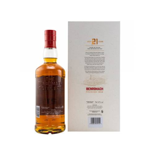 Benromach 21 Jahre Single Malt Whisky 43% vol. 0.70l