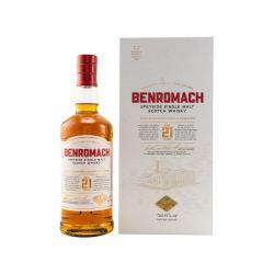 Benromach 21 Jahre Single Malt Whisky 43% vol. 0.70l
