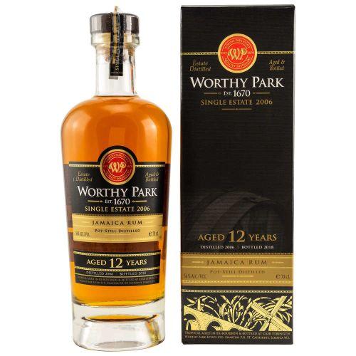 Worthy Park 12 Jahre Single Estate 2006 Jamaica Rum 56% vol. 0.70l
