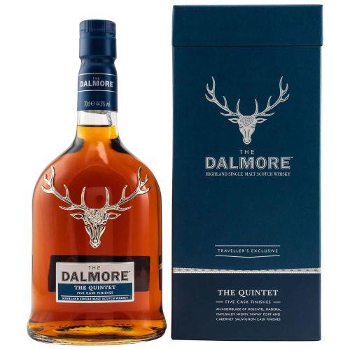 Dalmore Quintet Single Malt Whisky 44,5% vol. 0.70l