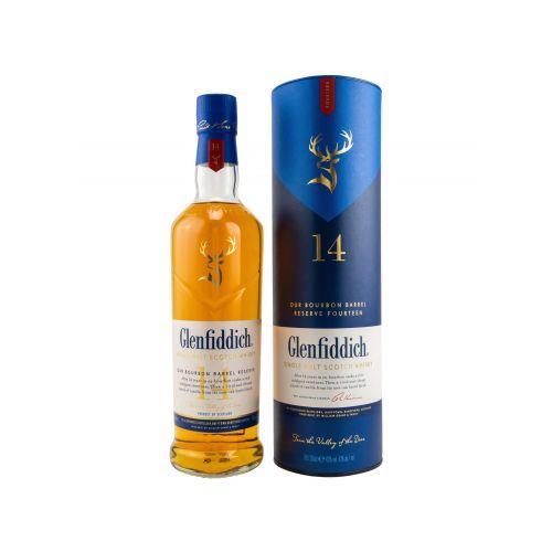 Glenfiddich 14 Jahre Bourbon Barrel Reserve 43% vol. 0.70l