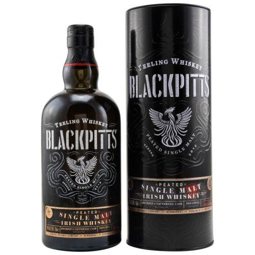 Teeling Blackpitts Peated Irish Whiskey 46% vol. 0.70l