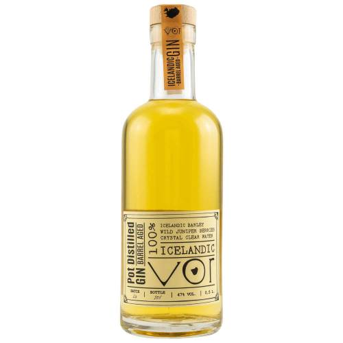 VOR Barrel Aged Pot Distilled Gin Iceland 47% vol. 0.50l