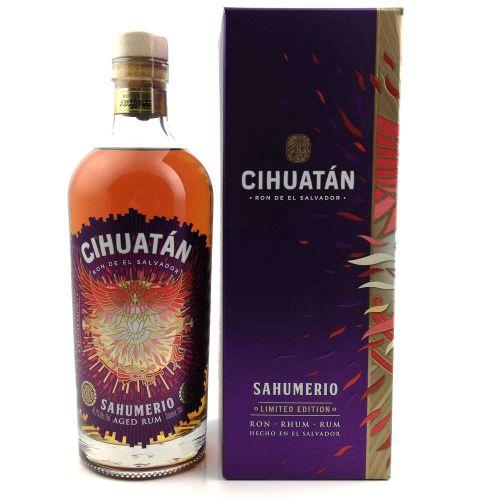 Cihuatan Sahumerio El Salvador Rum 45,2% vol. 0.70l