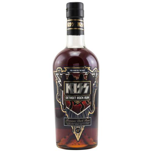 Kiss Detroit Rock Premium Rum 45% vol. 0.70l