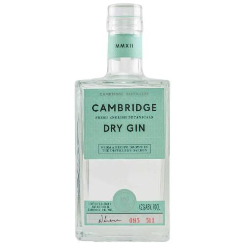 Cambridge Dry Gin 42% vol. 0.70l