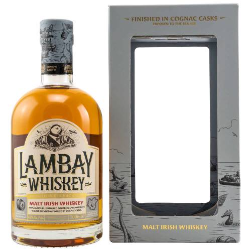 Lambay Malt Irish Whiskey Cognac Cask Finish 43% vol. 0.70l
