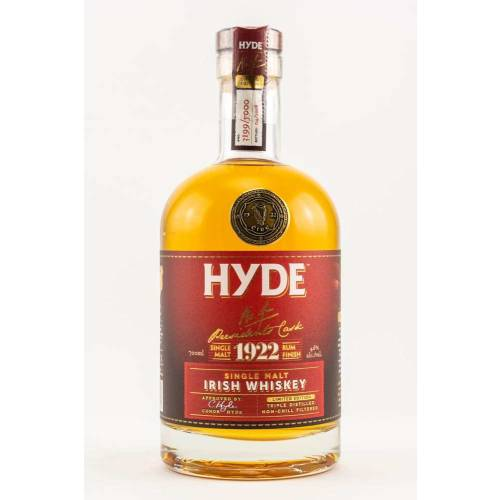 Hyde No.4 Presidents Cask Rum Finish 46% vol. 0.70l