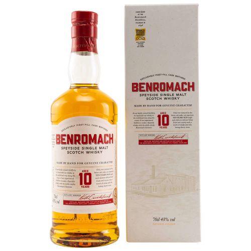 Benromach 10 Jahre 43% vol. 0.70l
