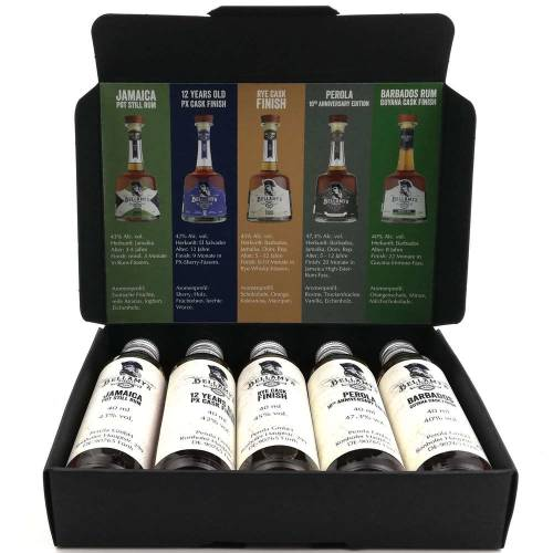 Bellamys Rum Tasting Box 5 x 40ml