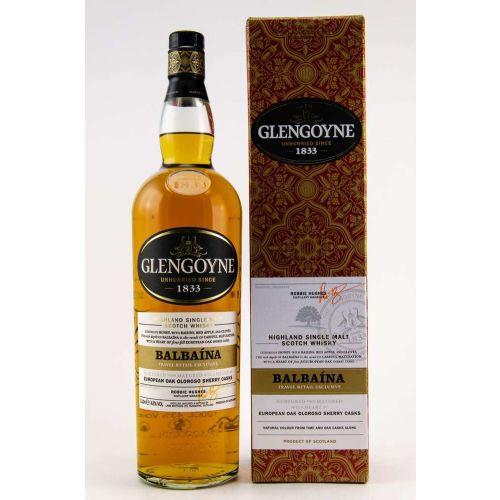 Glengoyne Balbaina European Oak Oloroso Sherry Casks 43% Vol. 1,0 Liter