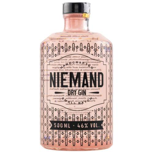 Niemand Dry Gin (46% Vol. 0.50l)