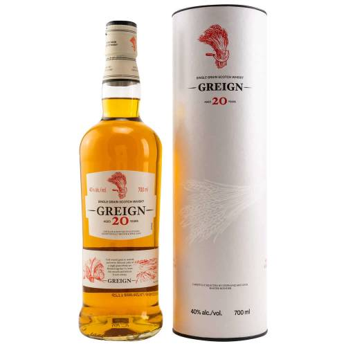 Greign 20 YO Single Grain Scotch Whisky