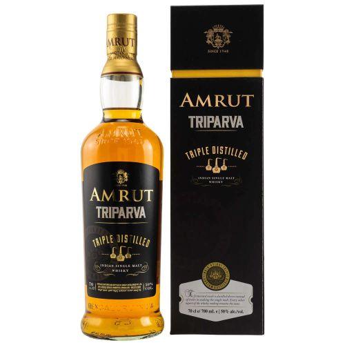 Amrut Triparva Triple Distilled 50% Vol. 0.70l
