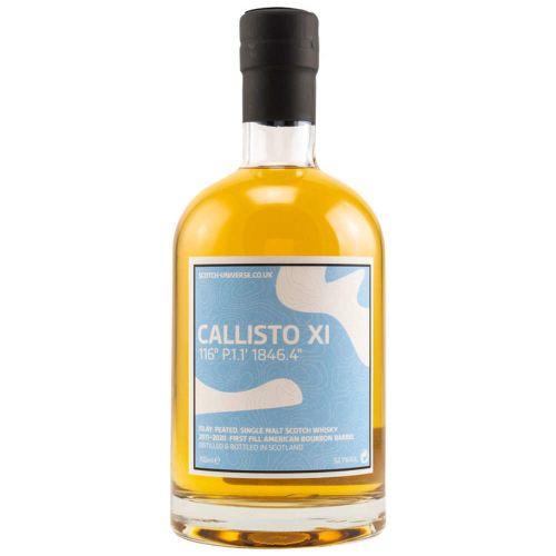 Scotch Universe Callisto XI 2011/2021 - 9 YO Islay Whisky 52,7% Vol. 0.70l