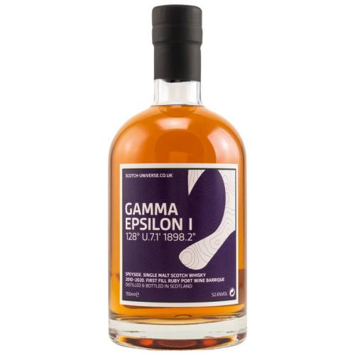 Scotch Universe Gamma Epsilon I 2010/2021 Speyside Whisky 52,6% Vol. 0.70l