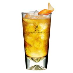Johnnie Walker Whisky Highball Longdrink Glas