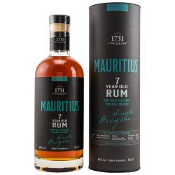 1731 Rum Mauritius (Grays Inc.Ltd) 7 YO 46% Vol. 0.70l