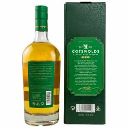 Cotswolds Peated Cask Whisky 60,4% vol. 0.70l