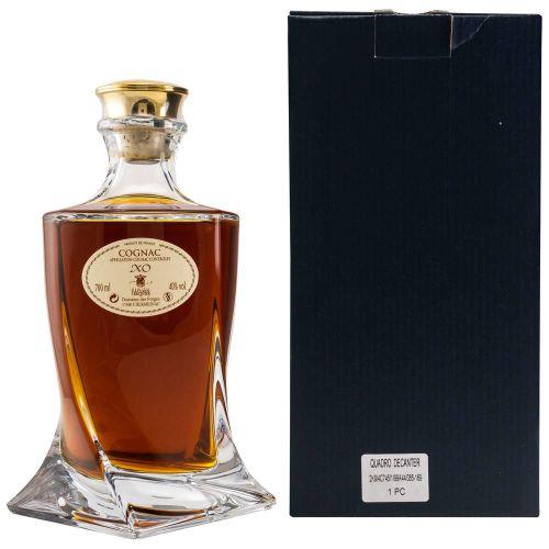 Vallein Tercinier XO Quadro Decanter Cognac 40% Vol. 0.70l