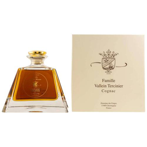 Vallein Tercinier XO Fine Champagne Cristal Pyramide Cognac 40% Vol. 0.50l