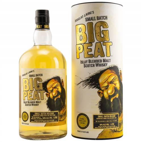 Big Peat Global Travellers Edition Whisky 1 Liter