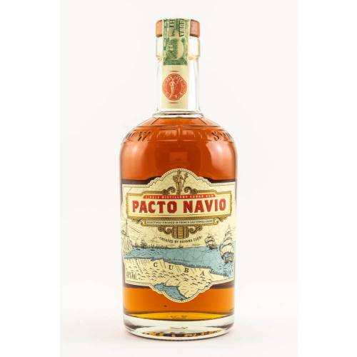 Havana Club Pacto Navio Rum (1 x 700ml)