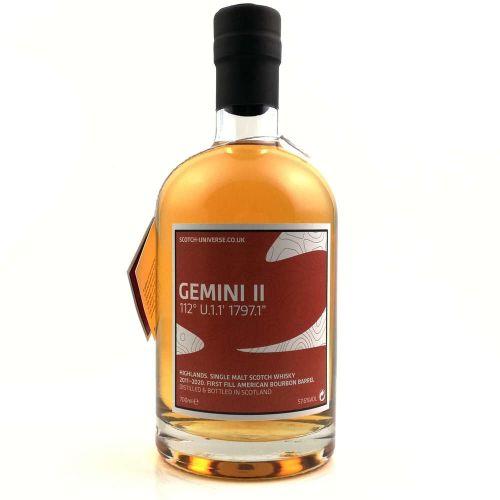 Scotch Universe Gemini II 2011/2020 - 9 Jahre 57,6% vol. 0.70l