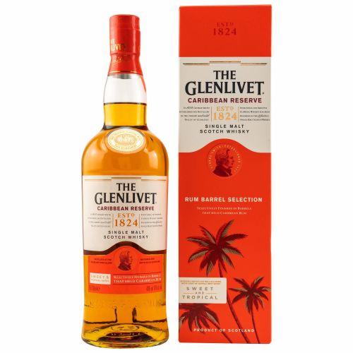 Glenlivet Caribbean Reserve Whisky 40% 0,70l