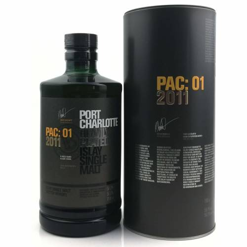 Port Charlotte PAC 01 - 2011 Whisky 56,1% vol. 0.70l