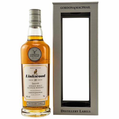 Linkwood 25 Jahre | Distillery Labels Gordon & MacPhail 43% Vol. 0,70l