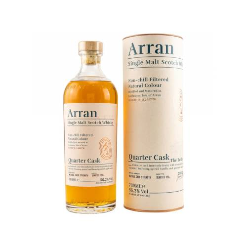 Arran Bothy Quarter Cask Whisky 56,2% vol. 0.70l