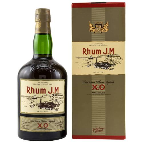 J.M XO Rhum Agricole 45% vol. 0.70l