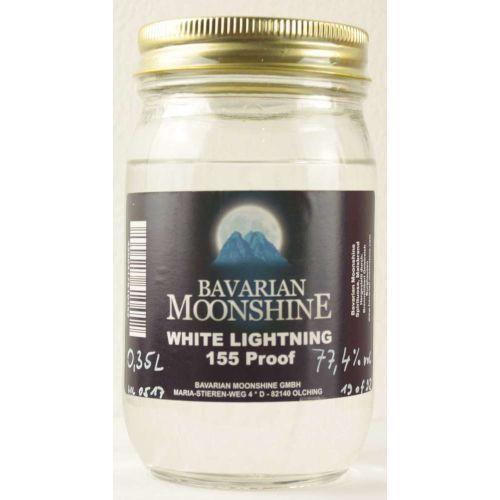 Bavarian Moonshine New Make White Lightning 155 Proof 77,4% 0,35l