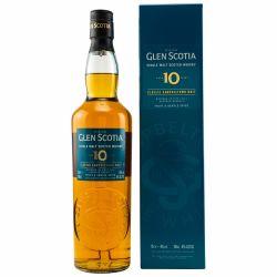 Glen Scotia 10 Jahre Unpeated Single Malt Whisky 46% 0,70l