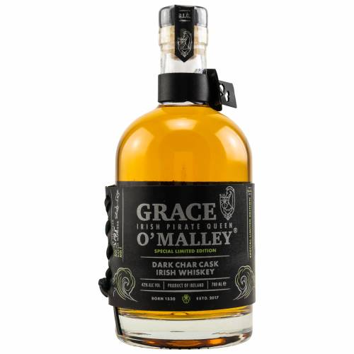 Grace O' Malley Irish Whiskey Dark Char Cask 0,70l 42%