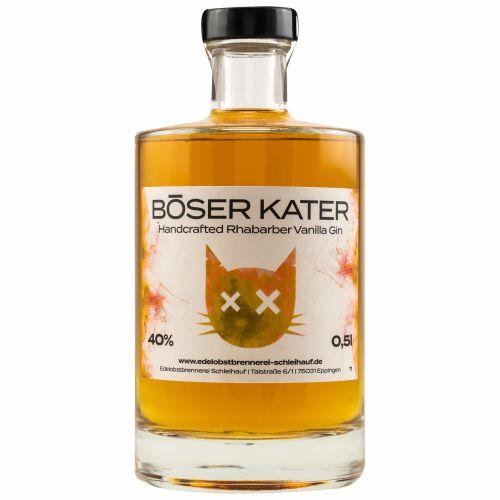 Böser Kater Rhabarber Vanilla Gin 40% 0,50l