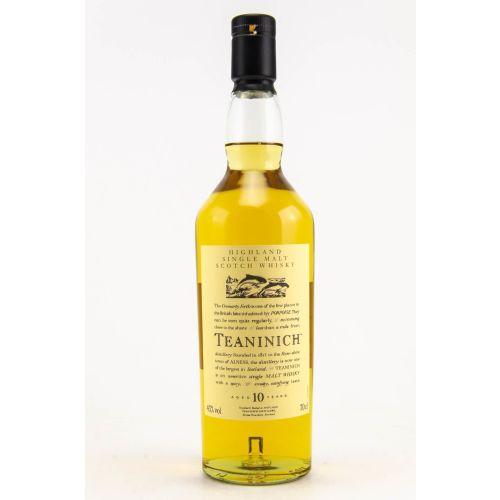 Teaninich 10 Jahre Flora & Fauna Whisky 43% 0,70l