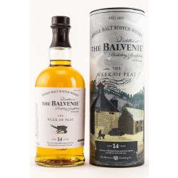 The Balvenie 14 Jahre Peat Week 48,3% 0,70l