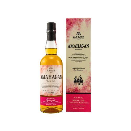 Amahagan Yamazakura Wood Finish Whisky 47% vol. 0,70l